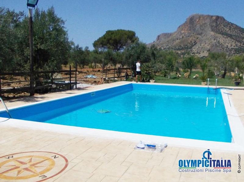 Costruzione piscina skimmer palermo costruzione piscine messina - Piscina skimmer ...