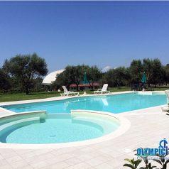 Costruzione piscina Agriturismo Calabria